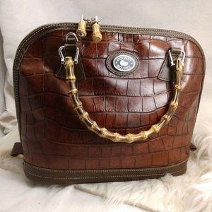 Authentic brown Dooney & Bourke purse handbag